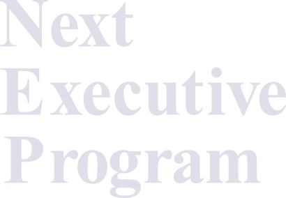 Next Executive Program